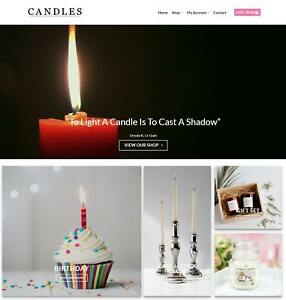 Candles Website Business For Sale Earn 428 A Sale free Domain hosting traffic