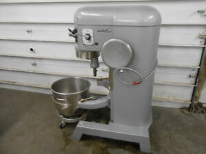 Hobart H 600t 60 Qt Quart Mixer 230 Volts 3 Phase Great Shape