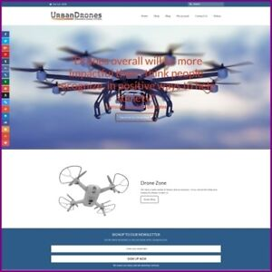 Drones Website Earn 375 00 A Sale free Domain free Hosting free Traffic