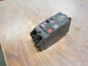 Ge Circuit Breaker Tey220 20a 277 480v 2p Used