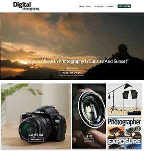 Digital Photography Website Business Earn 596 A Sale Domain hosting traffic