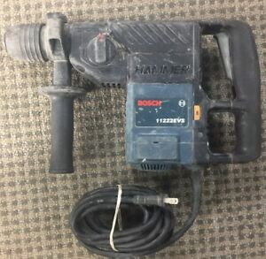Bosch 11222evs 1 1 8 Sds Plus Rotary Hammer Drill Variable Speed 0611222