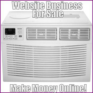 Air Conditioners Website Earn 611 44 A Sale free Domain free Hosting traffic