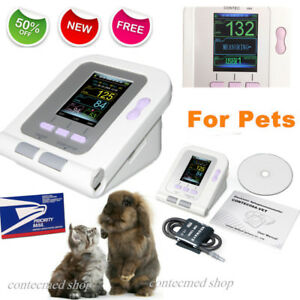 Digital Vet Veterinary Blood Pressure Monitor bp Cuff For Dog cat pets Software