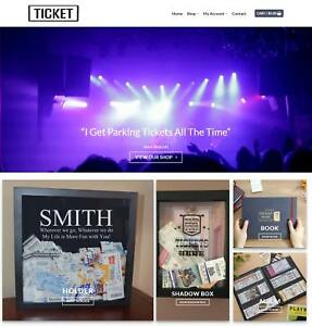 Concert Tickets Website Business Earn 453 A Sale free Domain hosting traffic