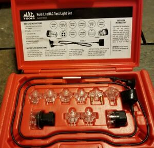 Mac Tools 10 Piece Noid lite Iac Test Light Set Model Et3055d