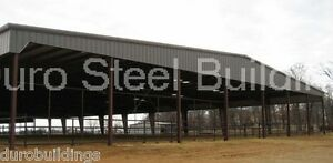 Durobeam Steel 75x100x16 Metal Building Rigid Frame All Open Roof System Direct