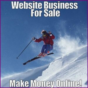 Skiing Website Business Earn 51 24 A Sale free Domain free Hosting free Traffic