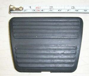 1964 1967 Chevy Chevelle Or Malibu Brake Or Clutch Pedal Pad Manual Transmission