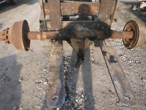 1973 90 Chevy Dana 70 C K 30 Dually Rear Axle Assembly 3 73 Gears Will Ship