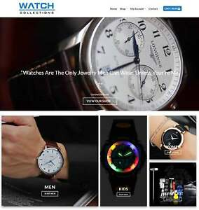Watches Website Business For Sale Earn 740 A Sale free Domain hosting traffic