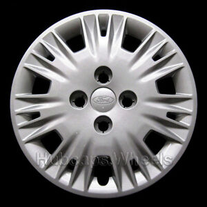 Hubcap For Ford Fiesta 2014 2018 Genuine Oem Factory 15 Wheel Cover 7064