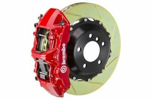 Brembo Gt Big Brake Kit Front 380mm 2 Pc Slotted 6 Piston Red 997 C2s 2005 2011