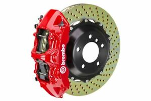 Brembo Gt Big Brake Kit Front 380mm 2 Pc Drilled 6 Piston Red 997 C2s 2005 2011
