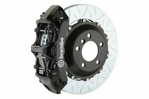 Brembo Gt Brake Kit Front 355mm Slotted Type 3 6 Piston Black A3 8p Gti 06 13