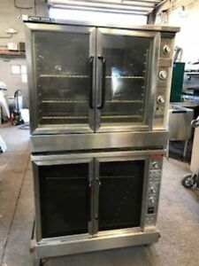 Market Forge Electric Double Stack Convection Ovens M2600 Power Saver Ii