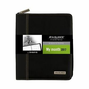 At a glance Executive Monthly Planner Appointment Book 2017 6 8 9 X 8 3 4