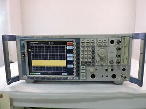 Rohde Schwarz Fsq8 Rf Signal Analyzer 20hz To 8ghz 90 Day Warranty