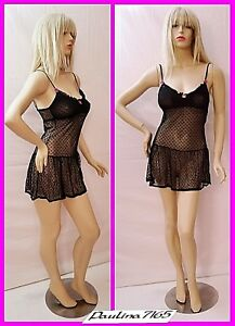 Female Full Body Realistic Mannequin Clothing Display W base local Pickup Only