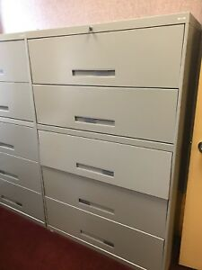 Metal File Cabinet 5 Drawers