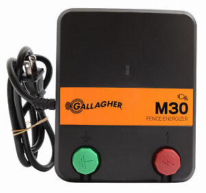 Electric Fence Charger M30 0 3 Joules 110v Gallagher G331434