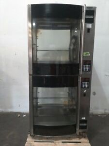 Hobart Hr7 Electric Double Stack Commercial Chicken Rotisserie Oven