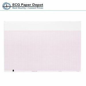 Ecg Ekg Thermal Recording Paper Welch Allyn Tycos 94018 0000 10 Pack Per Case