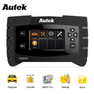 Abs Airbag Sas Immobilizer Full System Autek Ifix919 Engine Diagnostic Scanner