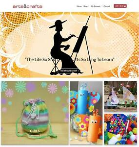 Art Supplies Website Business For Sale Earn 530 A Sale domain hosting traffic