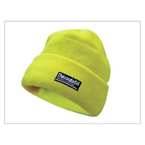 Scan Hi Vis Beanie Hat Thinsulate Lined