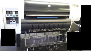 Hewlett Packard Designjet T7100ps Used In Operating Condition