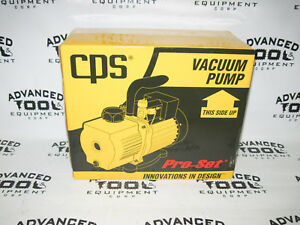 New Cps Pro set Vacuum Hvac Refrigerant Pump Vp6d 6 Cfm 2 Stage Dual Voltage
