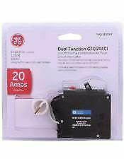 Ge Thql1120dfp Thql1120df Dual Function Arc fault gfi Breaker 20a New In Package