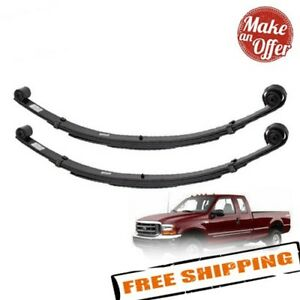 Pro Comp 22210 Set Of Front 2 Lifted Leaf Springs 1999 2004 Ford F250 F350 4wd