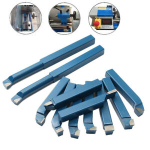 11pcs 16mm Mini Lathe Tool Set Carbide Tip Metal Cutting Turning Boring Bar Bit