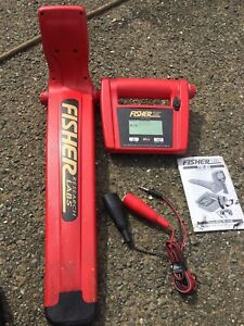 Fisher Research Labs Digital Line Tracer With Receiver Tw 82