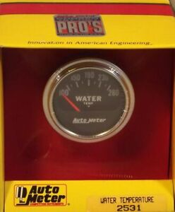 2 Inch Electrical Water Temperature Gauge Kit Autogage By Autometer 2531