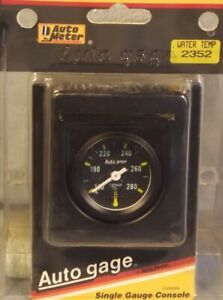 1 1 2 Inch Mechanical Water Temperature Gauge Kit Autogage By Autometer 2352