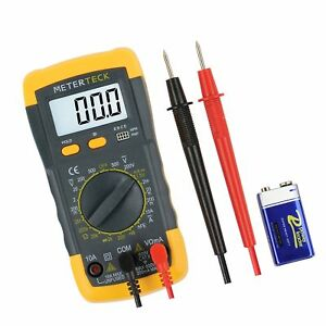 M teck Digital Multimeter Voltmeter Multitester