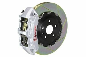 Brembo Gt Big Brake Kit Front 380mm 2 Pc Slotted 6 Piston Silver Rs5 B8 2013