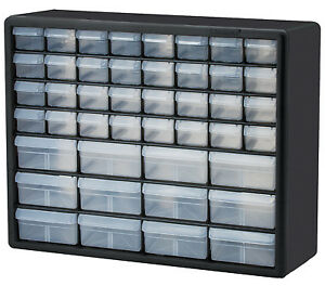 Small Parts Storage Cabinet 44 drawers Akro 10744