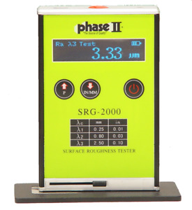 Phase Ii Srg 2000 Handheld Surface Roughness Tester
