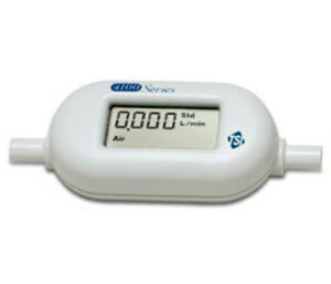 Tsi Alnor 4140 Mass Flowmeter For Gases With Lcd 0 01 20 Std L min 1 4 Tube