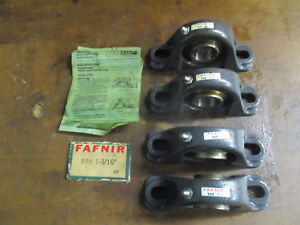 4 Pc Lot Fafnir Rak 1 3 16 Industrial Duty Ball Bearing_nos_nice Package Deal_