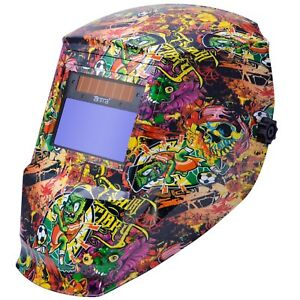 Antra Ah6 330 6325 Solar Power Auto Darkening Welding Helmet Shade 4 5 9 9 13