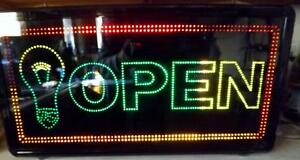 Lighting Paradise Led Open Business Window Sign