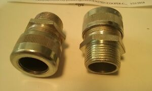 6 New Crouse hinds 1 Cable Gland Fittings