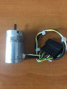 New Mini Motor Electric Bd 2136a 12 Citizen Chiba Precision
