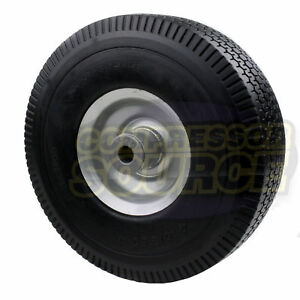 Wls50 Rolair Air Compressor Replacement Wheel Solid Flat Free Polyurethane Tire