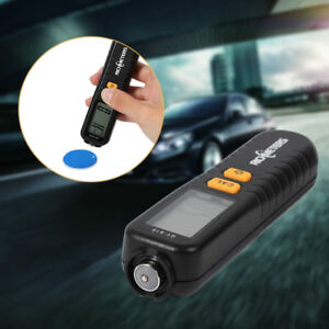 Digital Car Paint Coating Thickness Probe Inspection Gauge Meter Measuring Tool